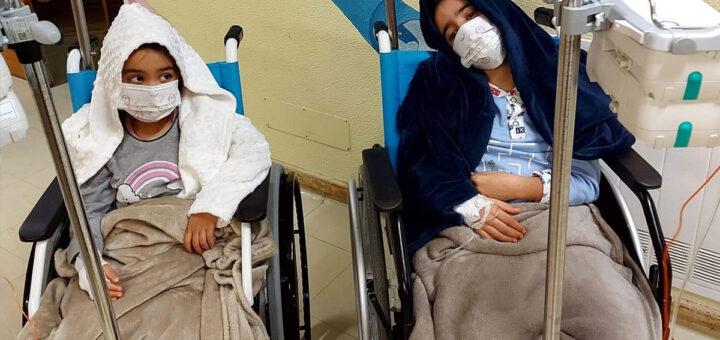 Dois irmãos de Gaia lutam contra um cancro agressivo