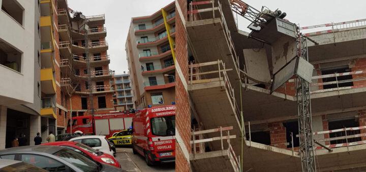 Trabalhador morre em queda de prédio em construção