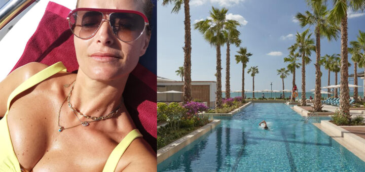 Cristina Ferreira hotel Dubai