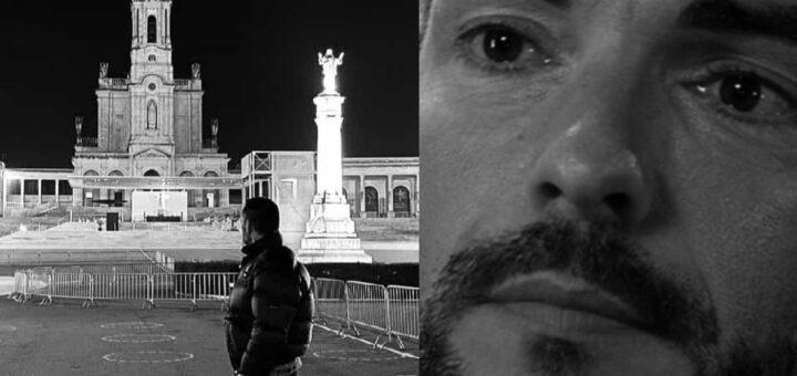 Cláudio Ramos fura confinamento para ir ao Santuário de Fátima