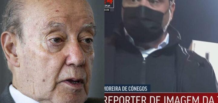 """Pinto da Costa quebra o silêncio sobre as agressões ao jornalista: """"Não vi nenhuma agressão"""""""