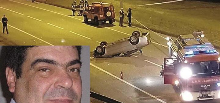 Condutor de ambulâncias do hospital de Coimbra perde a vida em acidente ao regressar a casa