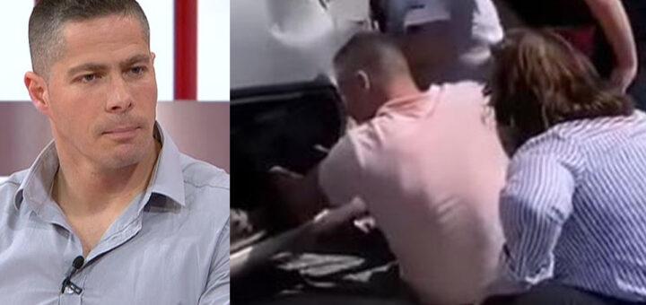 Militar da GNR Hugo Ernano salva jovem de 20 anos encarcerada em carro capotado na A1
