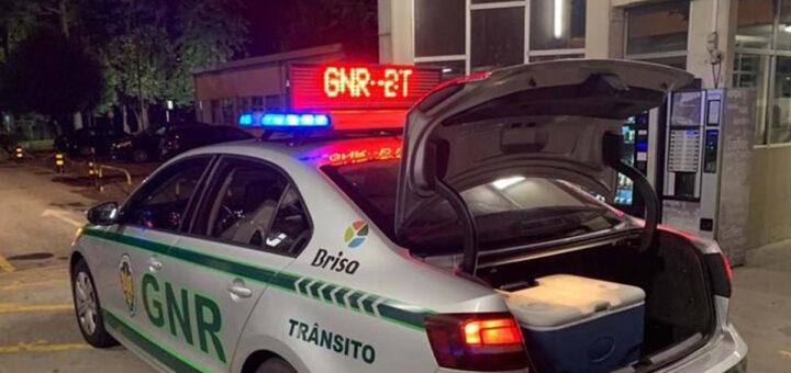 GNR consegue salvar órgãos humanos depois de acidente a 220km/h