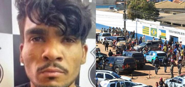 Assassino em série morto com 38 tiros após andar fugido à polícia
