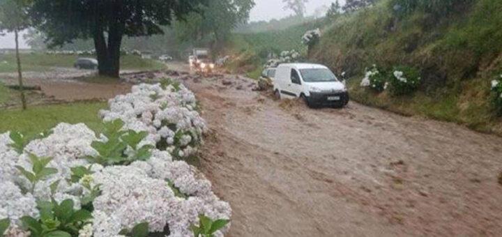 Encontrado corpo de uma das mulheres desaparecidas nas chuvas torrenciais nos Açores