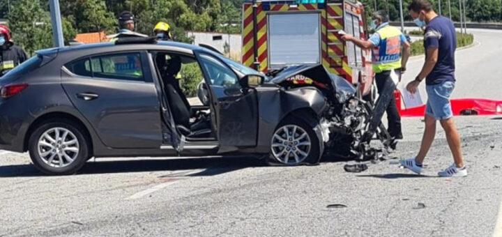 Um morto com cerca de 30 anos e sete feridos em acidente na Guarda