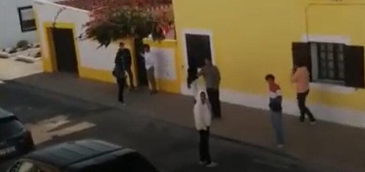Jovens de férias em Milfontes espalham o terror junto da população
