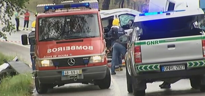 Tragédia em Alcácer do Sal: Rapariga de 22 anos após namorado condutor se despistar