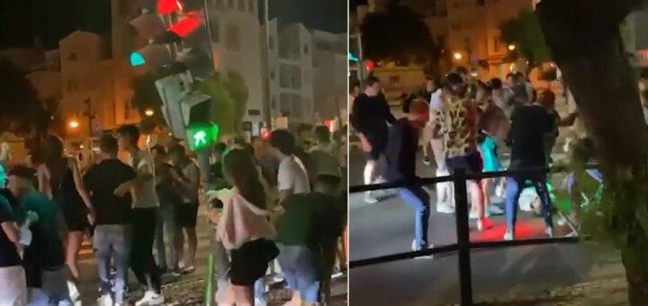 Jovens alcoolizados abanam Semáforo e cai em cima de rapariga de 19 anos, em Albufeira