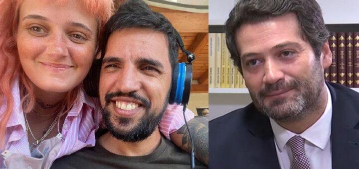 """André Ventura ameaçado pelo ex-marido de Carolina Deslandes: """"A gente vai-se cruzar"""""""